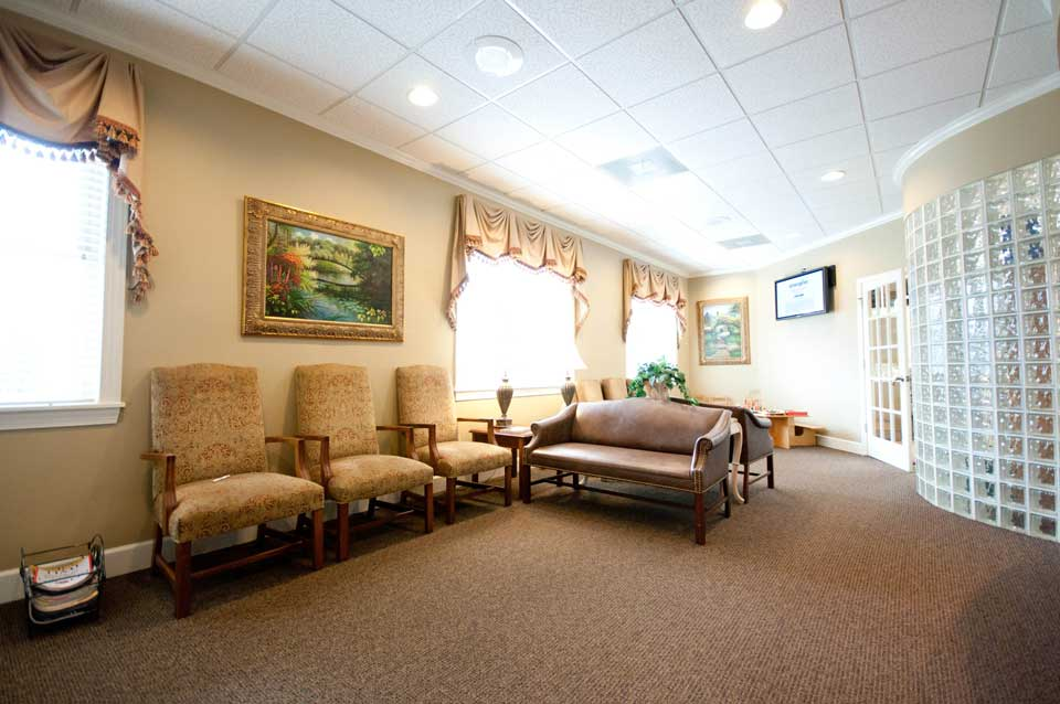 Kennesaw dental office waiting area