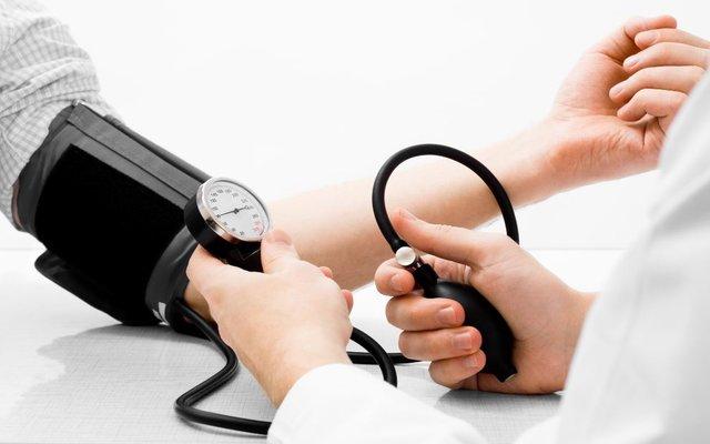 blood pressure cuff reading