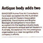 Antique body adds two