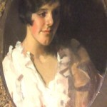 Unknown painting of Sydney 'girl' confirmed to be by seven times Archibald Prize Winner W.B. McInnes, one of Australia's most famous artists in the 1920s and 30s