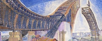 Grace Cossington Smith, The Bridge in-curve, 1930