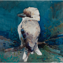 Lot 12 Sydney Long Kookaburra