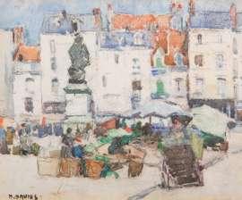 Lot 220 - David Davies, Dieppe, est. $3,500-5,000. Dinky Di