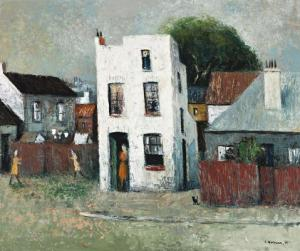 Lot 39 - Sali Herman, The White House, Paddington, 1964, est. $14,000-18,000. Trump is not welcome here