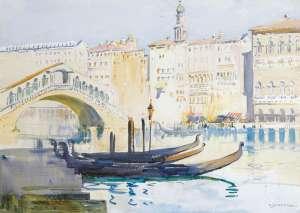 Arthur Streeton Venice Canal