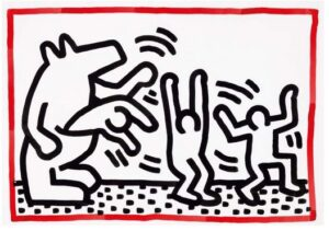 Lot 52 Keith Haring