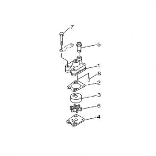 Yamaha 68D-WG078-00 Water Pump Repair Kit