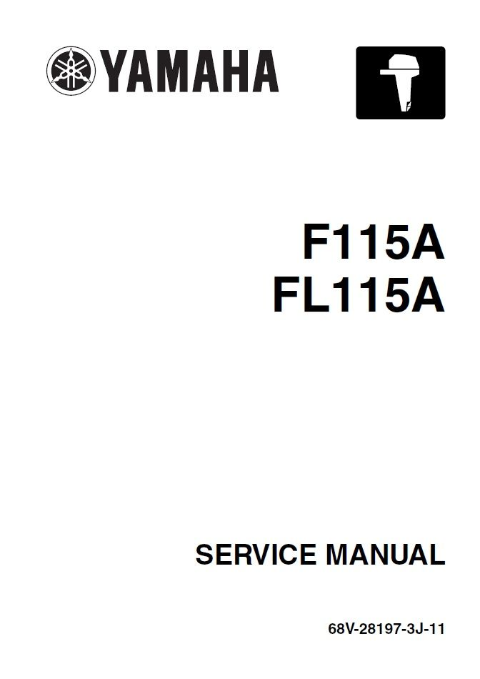 Yamaha 68V-28197-3J-11 Service Manual