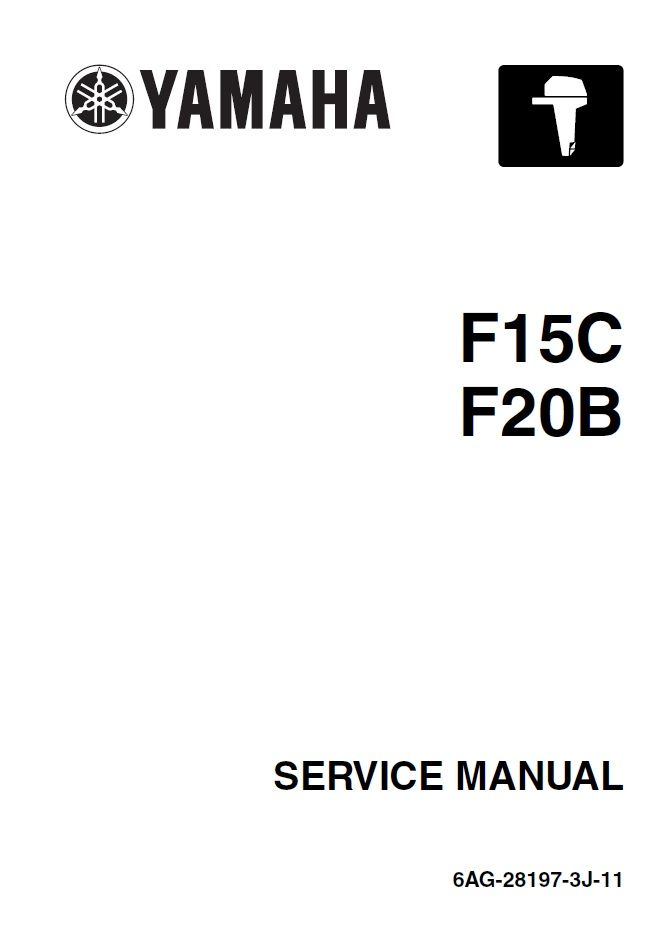 Yamaha 6AG-28197-3J-11 Service Manual