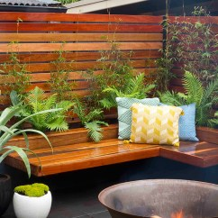 Kitchen Corner Bench Seating With Storage Aid Cookware How To Build A Seat And Planter Box   Better Homes ...