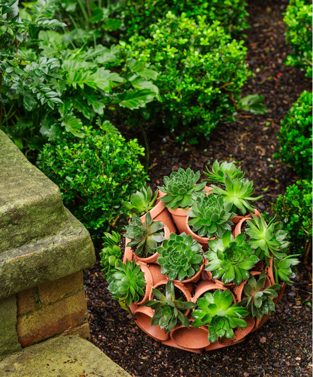 ornamental terracotta garden feature