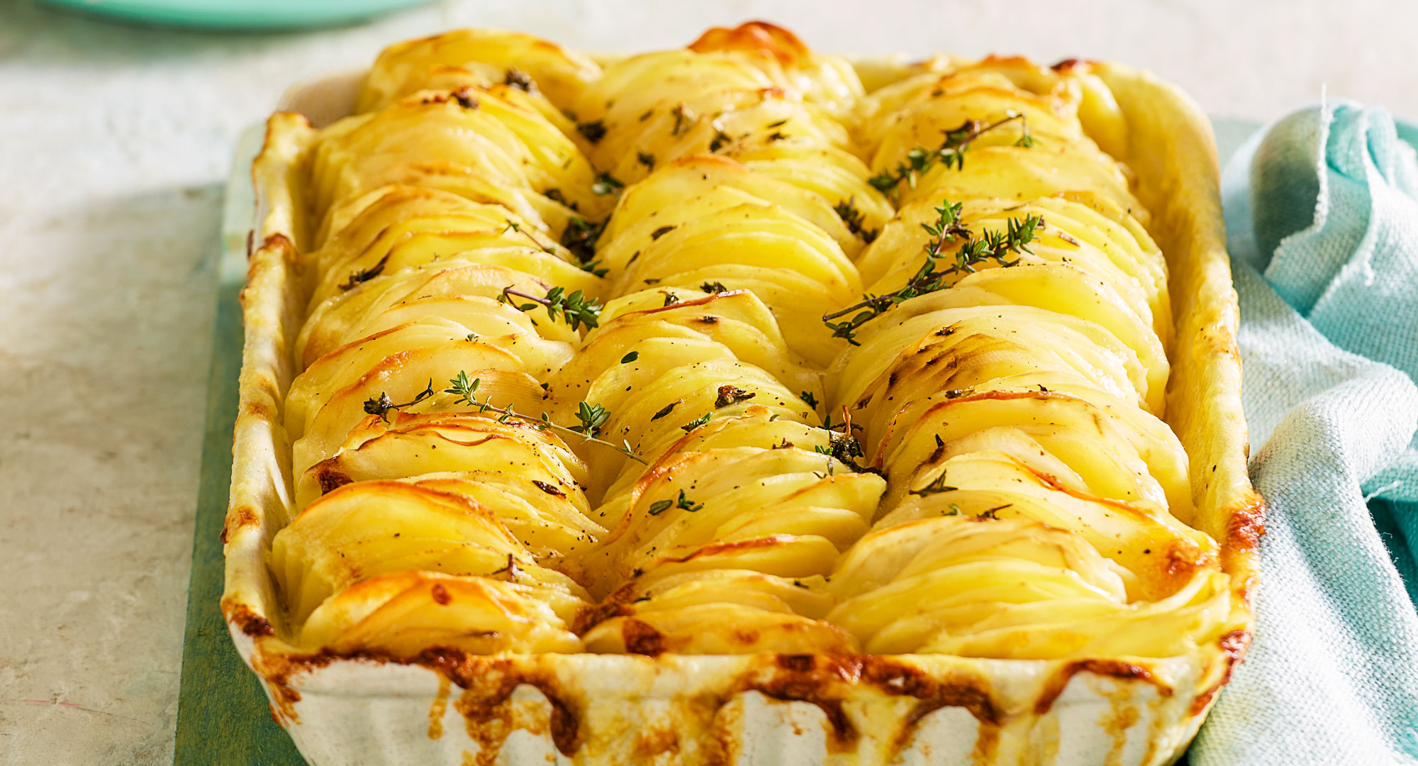 Vertical Potato Bake Recipe