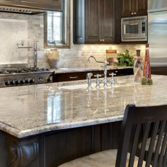 Refinishing Kitchen Countertops Island Centerpiece Easy Makeover Refinished Better Homes And