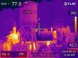 1880 Train Thermal Image