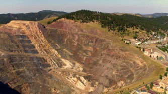 Lead Open Pit Mine