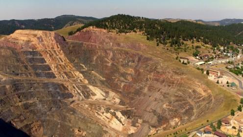 Lead Open Pit Mine - Black Hills Aerial Photography - Black Hills Professional Aerial Photography