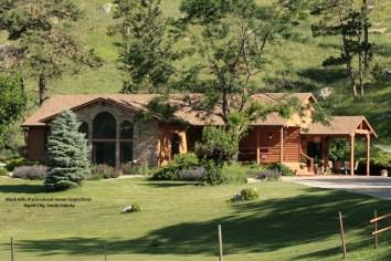 Log Homes Wyoming