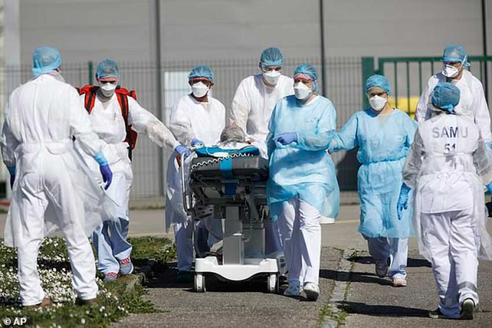 अमेरिकामा कोरोना महामारीको अवस्था डरलाग्दोे, संक्रमितको संख्याले चीनलाई उछिन्यो