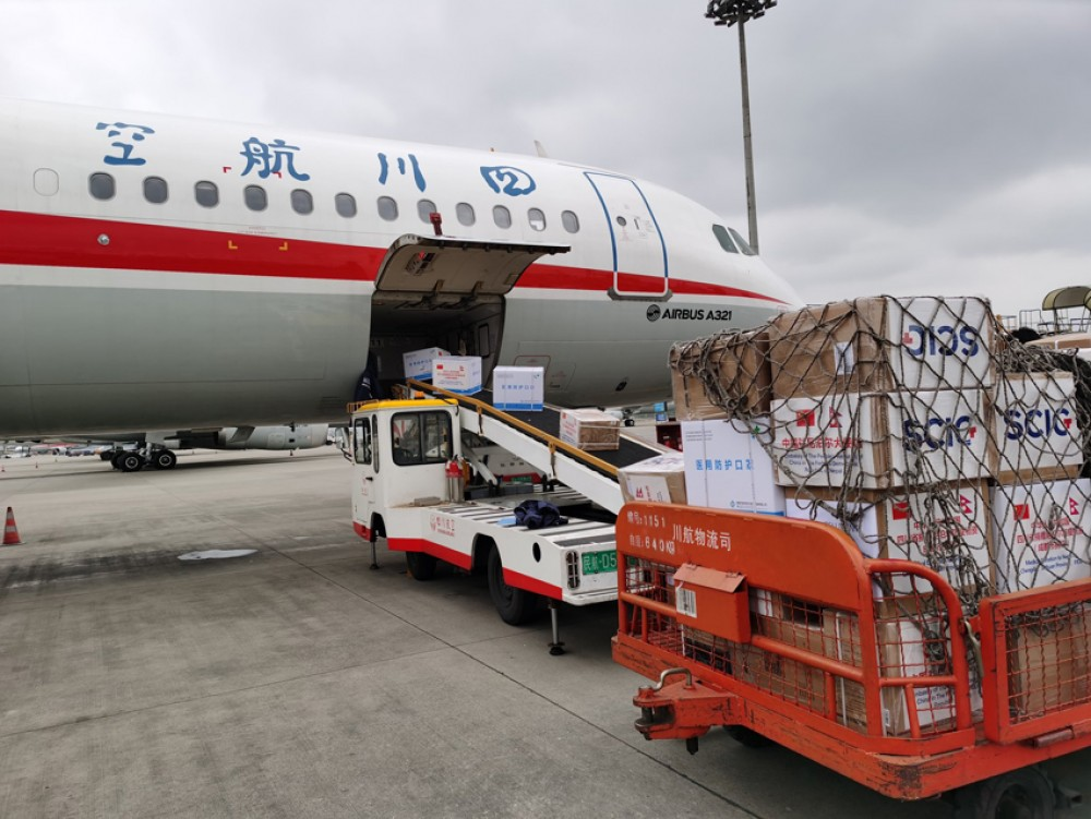 स्वास्थ्य सामग्री बोकेर चिनियाँ विमान नेपाल प्रस्थान, अन्य सामग्री पनि चाँडै नेपाल आइपुग्ने