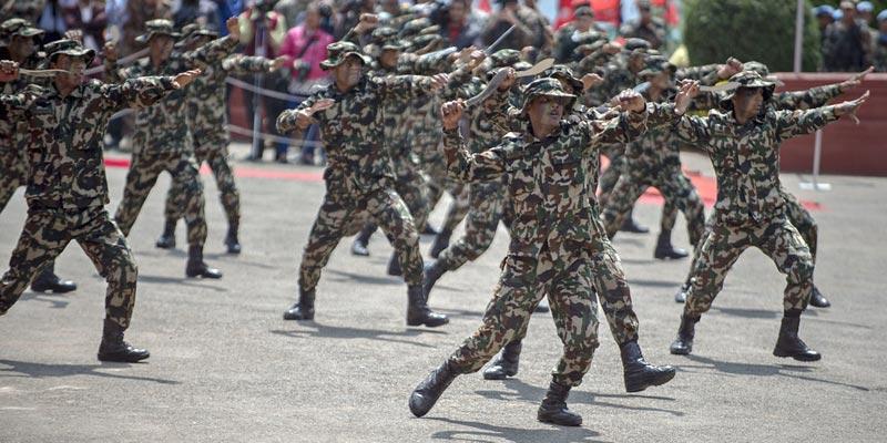 सेनालाई सुरक्षाको जिम्मा