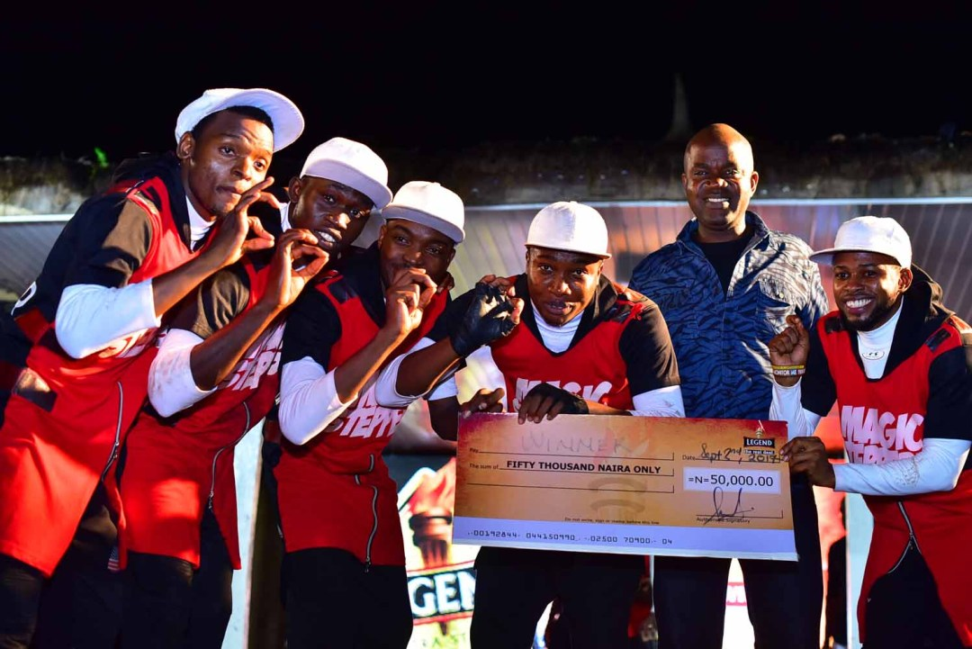 magic steppers - winners of the real deal competition