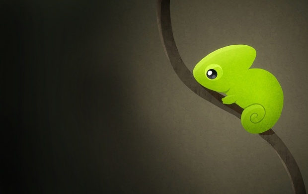 Cartoon Wallpaper Iphone X Chameleon Art Wallpapers