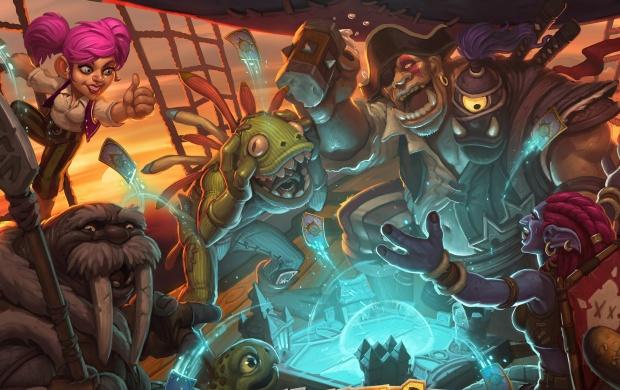 Hearthstone Heroes Of Warcraft Key Art wallpapers