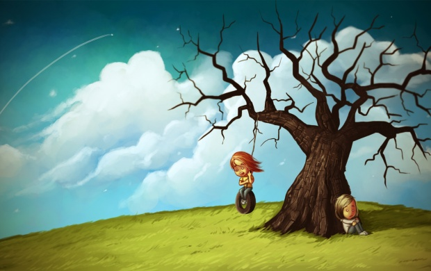 3d Live Wallpaper For Windows 8 1 Sad And Happy Couple Art Wallpapers
