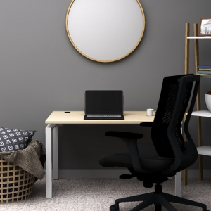 Home Office Desk Mirror Clear design