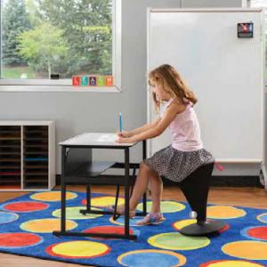 Home School Color Kids Desk Learning