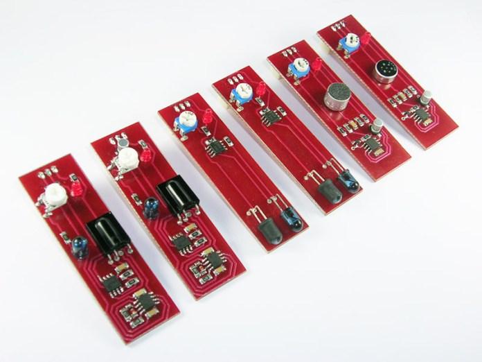 logibot sensors