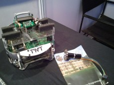 Soccer Playing Robot From TNT