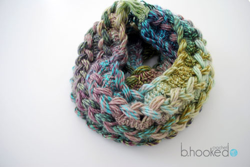 Hairpin Lace Infinity Scarf Free Pattern And Video Tutorial