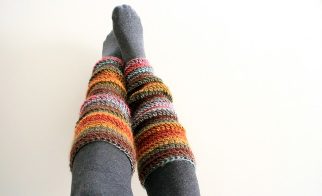 Beginner Crochet Leg Warmers for YouTube