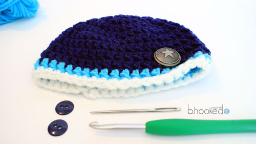 Neborn crochet Beanie