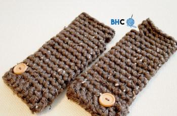 crochet wristers