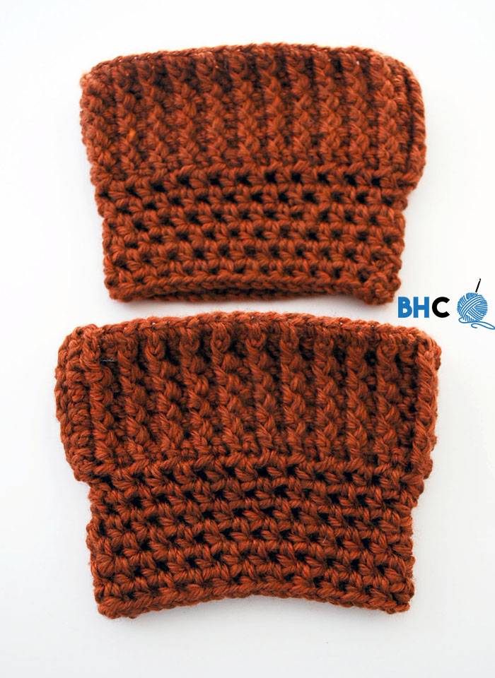 Fun Fall Crochet Boot Cuffs Bhooked Crochet Knitting Podcast