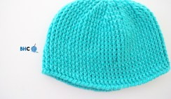 B Hooked Crochet Hat Sizes