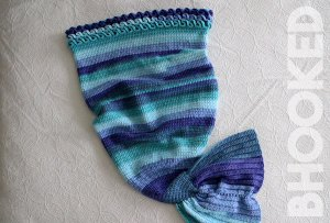 Crochet Mermaid Tail: Baby through Adult Sizes