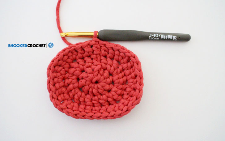 Crochet Oval Free Pattern And Video Tutorial Bhooked Crochet