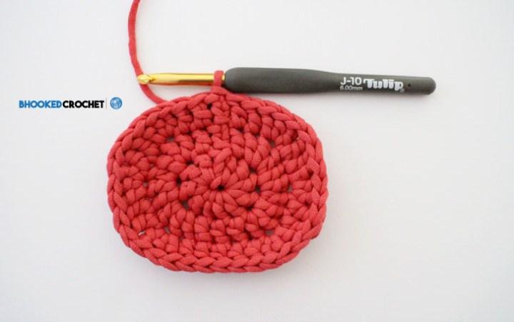 crochet oval