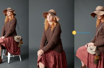 crochet pullover