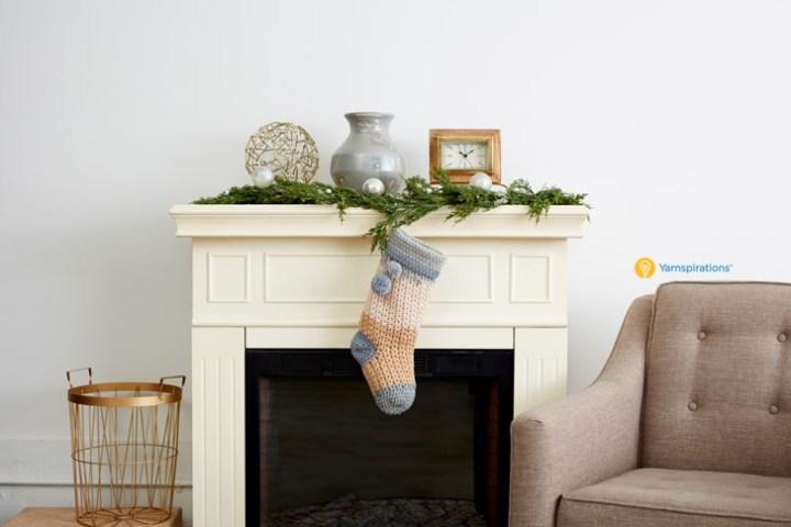 crochet stocking