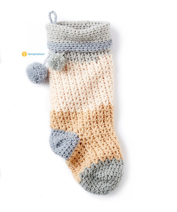 crochet stocking