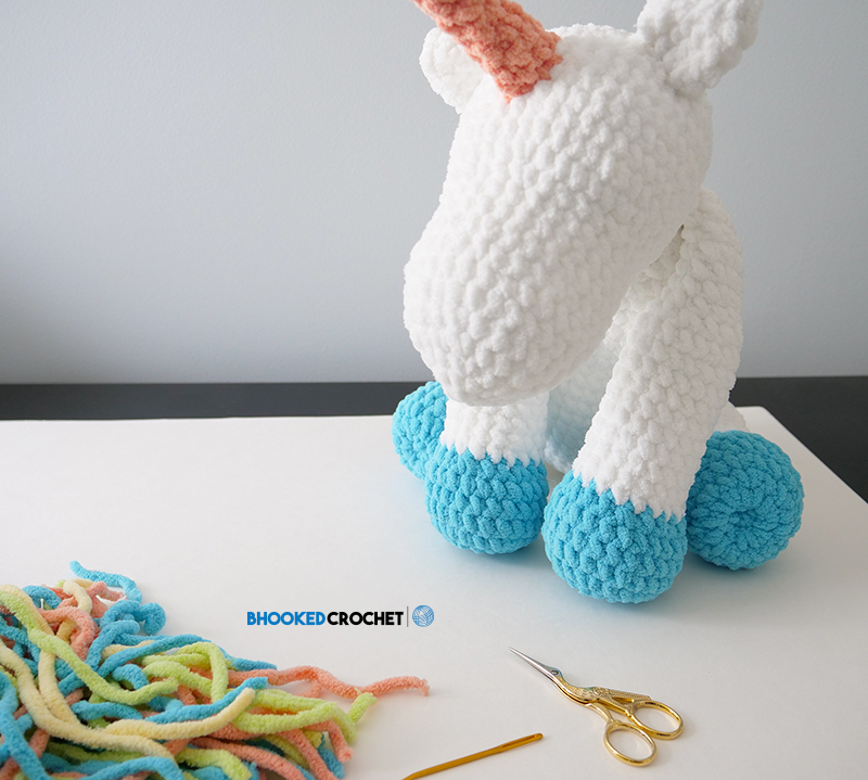 How To Crochet Unicorn Horn