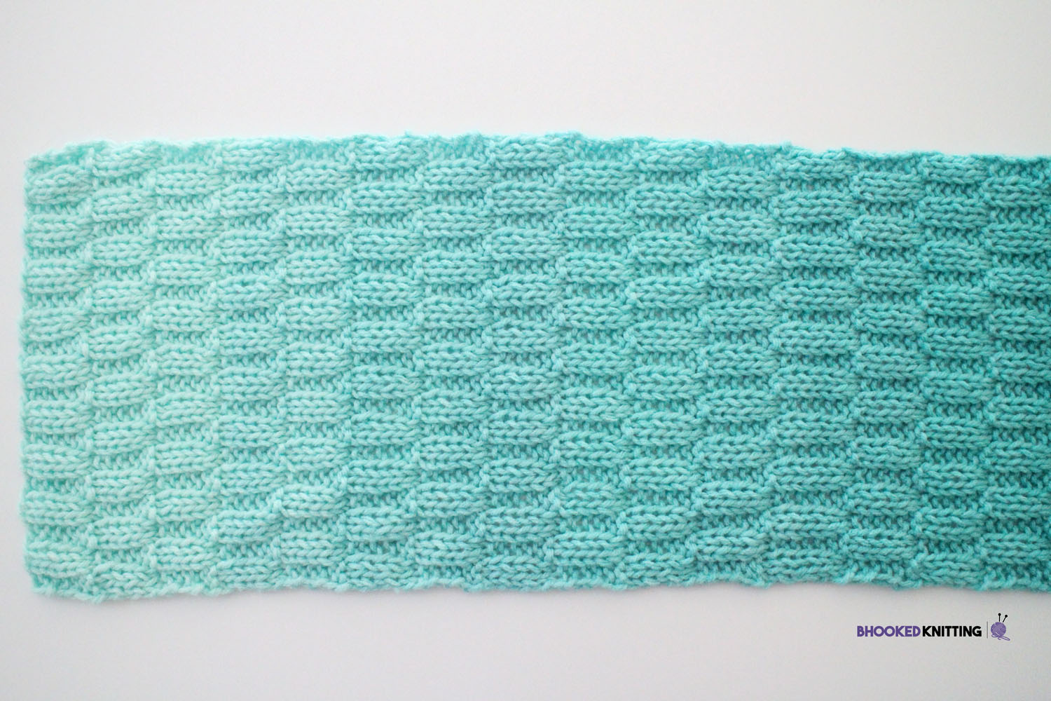 Learn How To Knit The Basketweave Scarf From Red Heart
