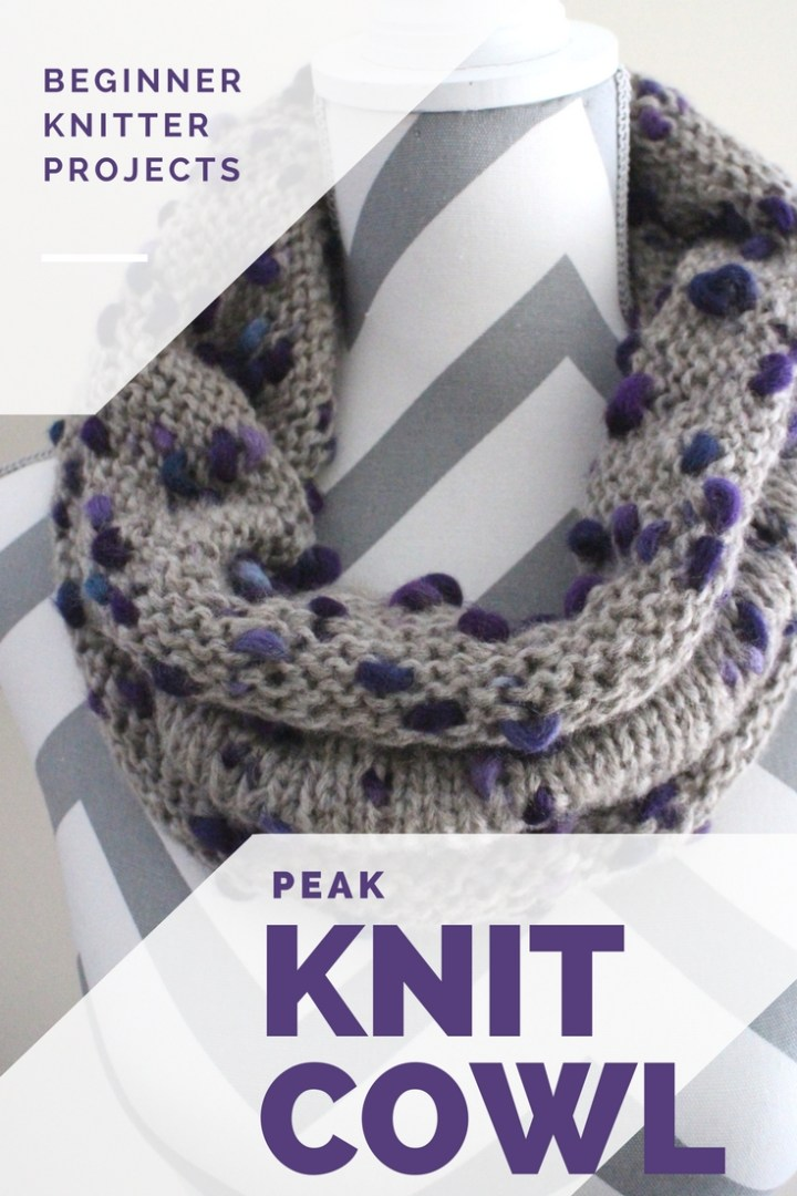 knit cowl pattern