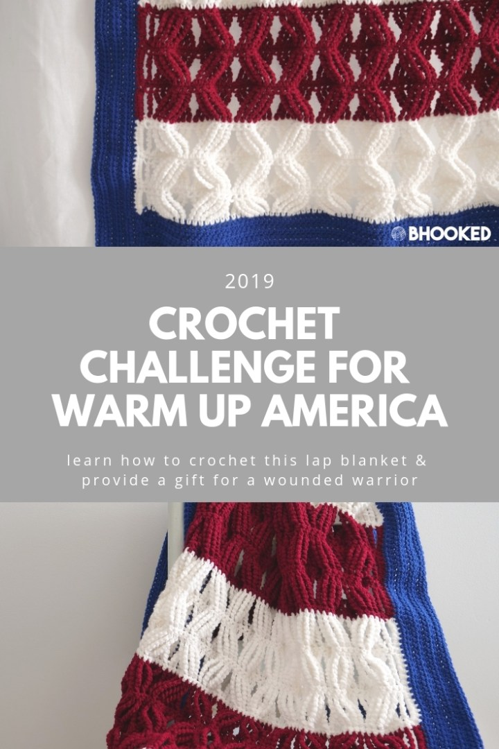 Crochet Challenge for Warm Up America   2019
