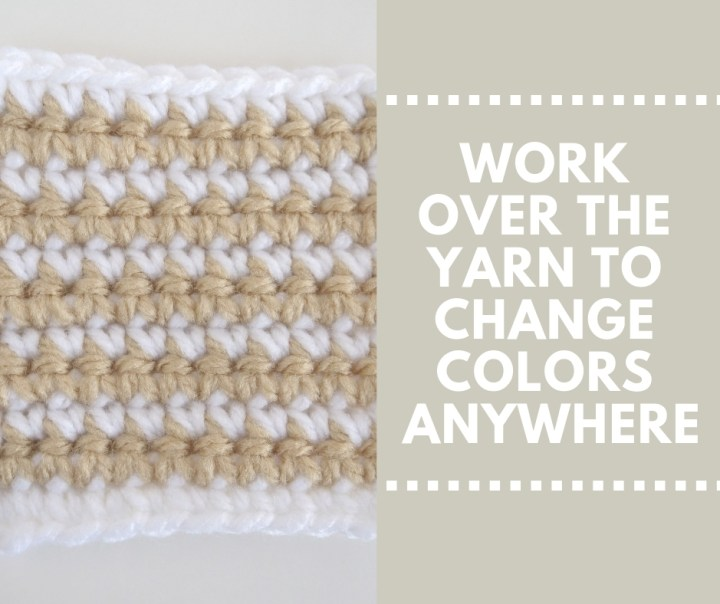 How to Change Colors In #Crochet Projects | Plus FREE downloadable guide!