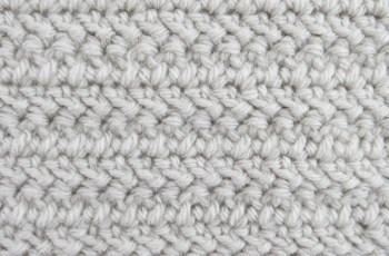 Herringbone Double Crochet   Instructions and Video Tutorial!